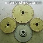 Алмазный диск с фланцем производство Украина