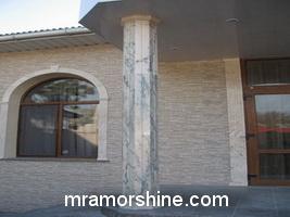 Изготовим мраморные колонны